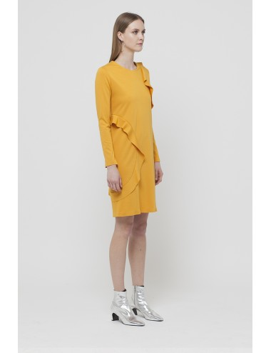 Dress with double waves